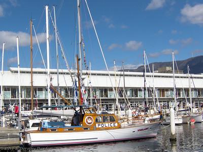 VIGILANT, the historic Hobart police boat