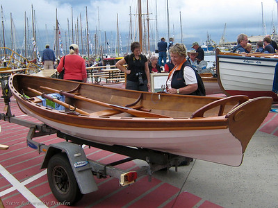 Gorgeous wooden rowing boats