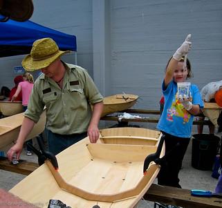 Parent & Child boatbuilding project