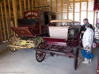 Wagon and a Cobb & Co. Coach