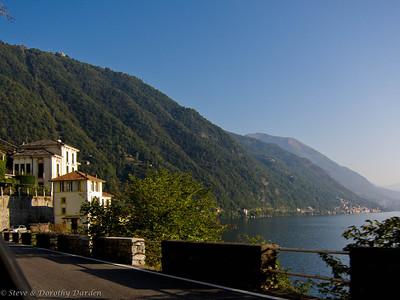 Our last  view of Lake Como