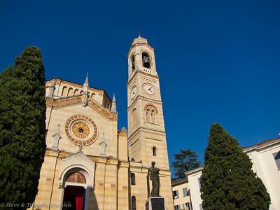 Church at Lake Como