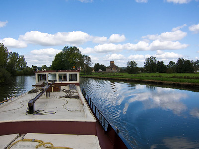 Underway on the canal