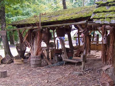 Basket maker's hut