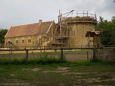 Castle contruction as of 2011