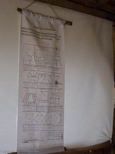 Villard de Honnecourt was an architect and engineer of the 13th century, well known for his document containing numerous sketches of architecture and geometric studies.