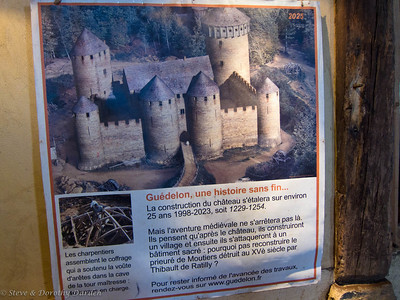 The construction of the castle will take about 25 years, with completion expected in 2023.  Next, a village will be built as well as a sacred building.