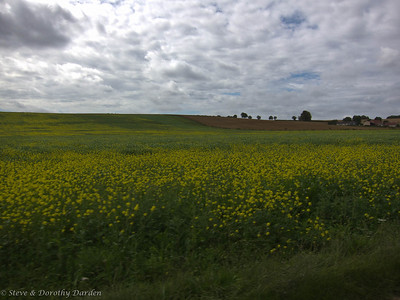 French farming countryside