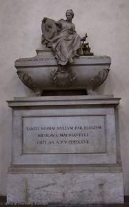 Tomb of Nicolaus Machiavelli