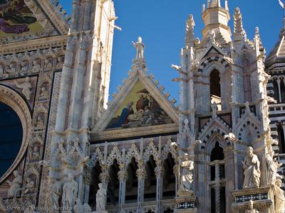 The Duomo in Siena