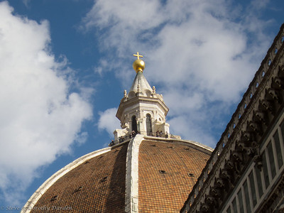 The Landern of Brunalleschi's dome