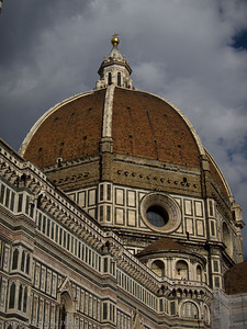 Filippo Brunelleschi was the architect for the dome for Florence's cathedral.
