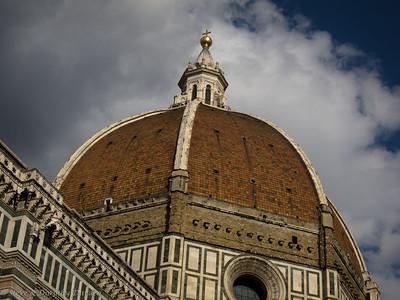Four million bricks were used to build Brunelleschi's Dome.