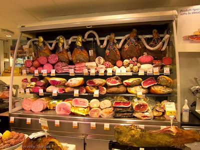 """The word """"prosciutto"""" means """"ham"""" in Italian."""