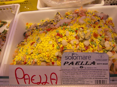 Frozen Paella Mix, ready for cooking