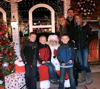 Annual Santa Picture!