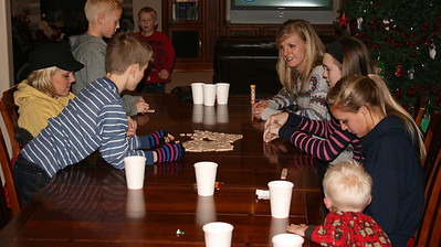 After our Riverwoods visit--we came home for hot chocolate and games