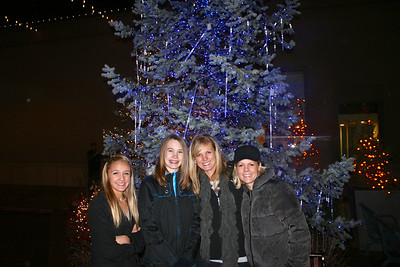 The girls--Megan, Emme, Jennifer and Kathryn