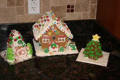 The finished products