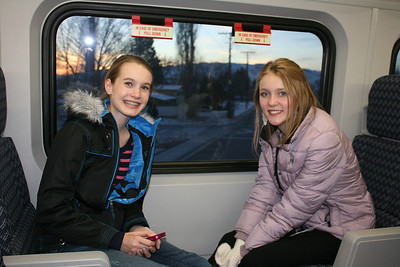 The Holman family got on the frontrunner at the exact same time, so Emme had Abbie to hang out with!