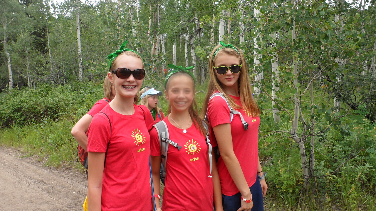 Girls' camp 2012