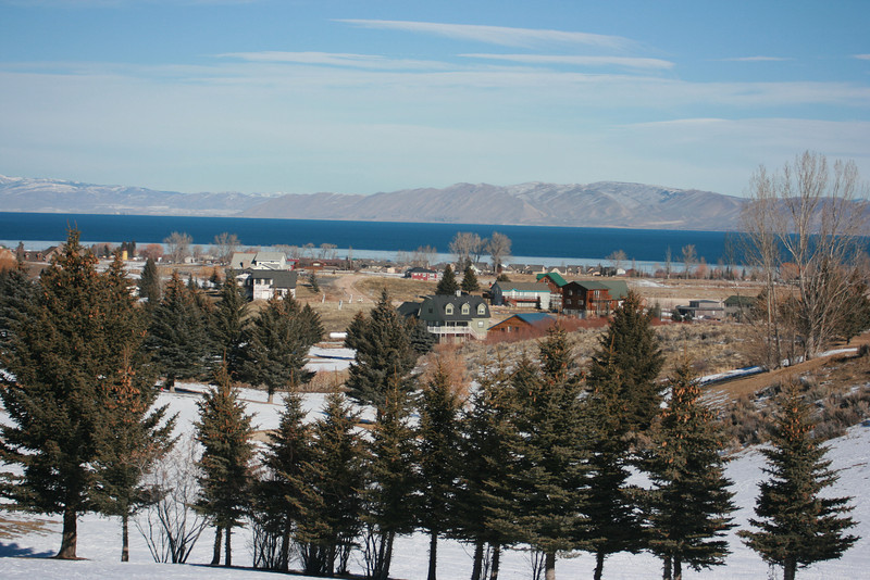 Beautiful view of Bear Lake
