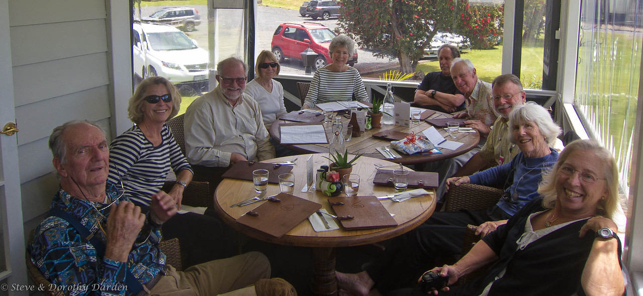 Steve's 70th birthday party at the Pear Tree on the Kerikeri River.