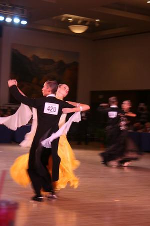 Ballroom (Waltz, Tango, Foxtrot)--7th in Youth Pre Champ, 7th in Junior