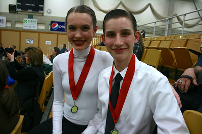 2nd Place in Waltz/Quickstep at UVU Competition...Feb 2013