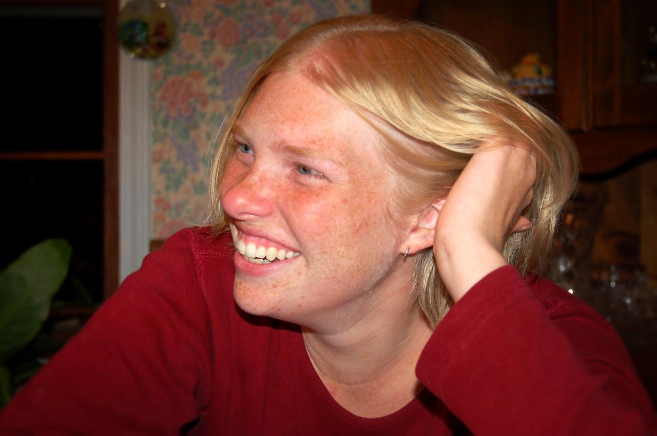 A non-incriminating photo of Rachel