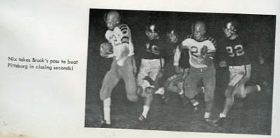 1952-53 Yearbook  - Final Score Gilmer 13 Pittsburg 7