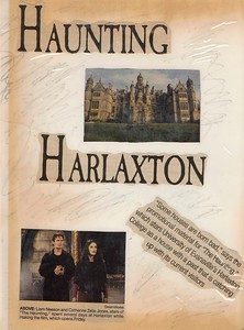 The Haunting was filmed at Harlaxton.