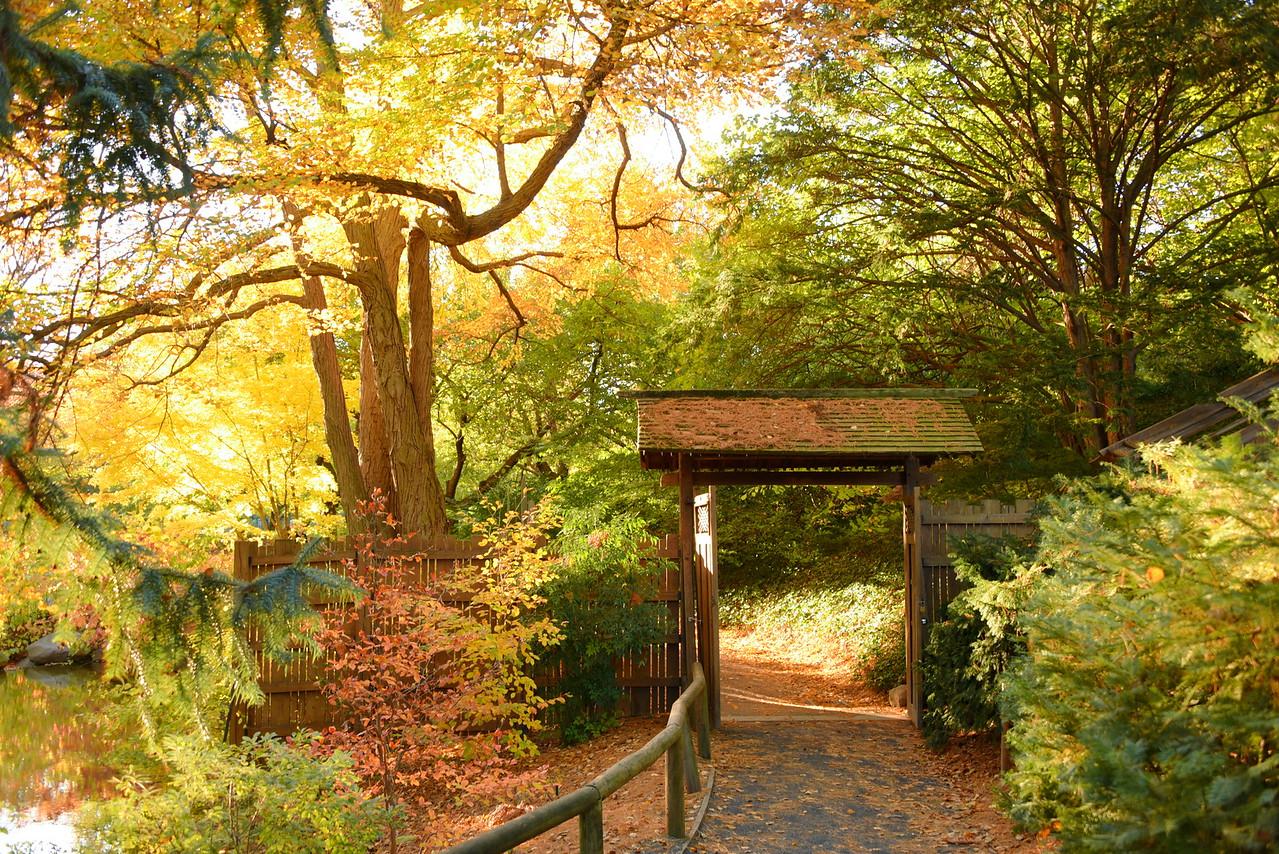 Japanese Garden Exit