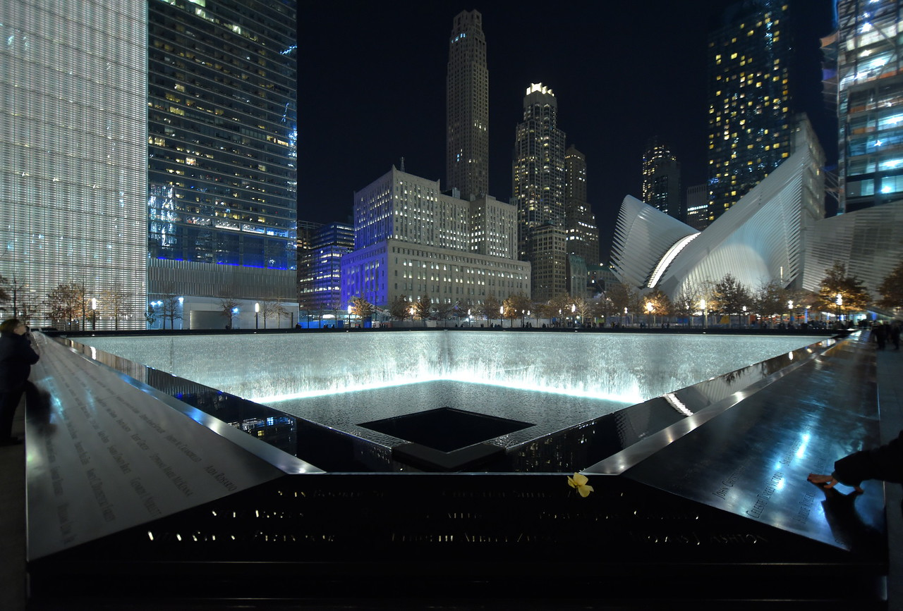 North Tower Reflecting Pool