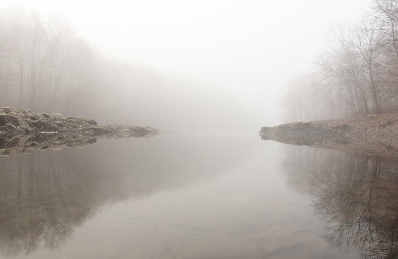 Fog At the Reservoir