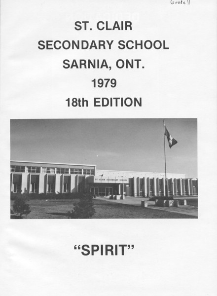 Yearbooks - St. Clair High School - Sarnia