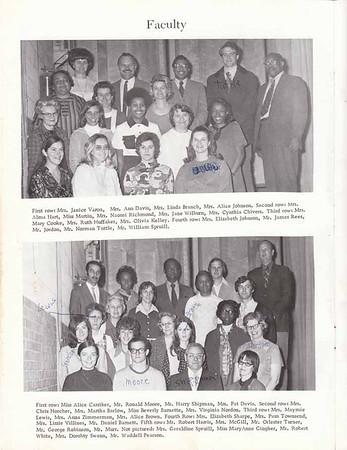 Gillespie Yearbook 71-72