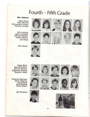 Spring Valley Academy Elementary Yearbook 85-86
