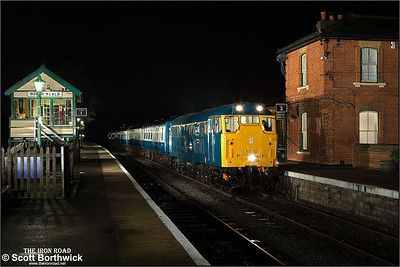 31438 stands at North Weald on 25/01/2014.