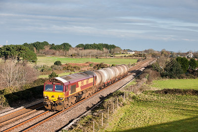 66177 6C21 1240 Burngullow-Long Rock at Treleigh