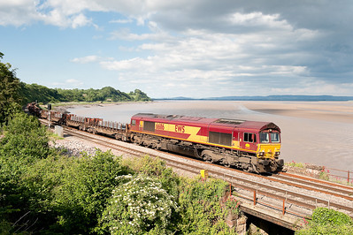 66116 6V36  (Q)  08:17 Lackenby-Margam at Purton