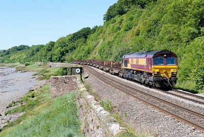 66141 6E35 0854 Margam-Lackenby at Gatcombe