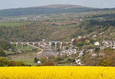 150280 Calstock viaduct 1045 Plym-Gunnislake