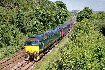 57604 5C99 0915 Old Oak Common to Penzance,repositioning move due to earlier failure of 57602.