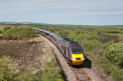 43384/43301  0930 Newquay-Dundee at Goss Moor