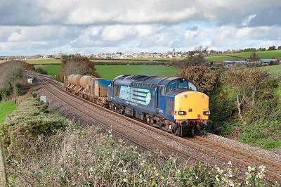 37602 6Z37 1300 Par-York.Returning RHTT wagons