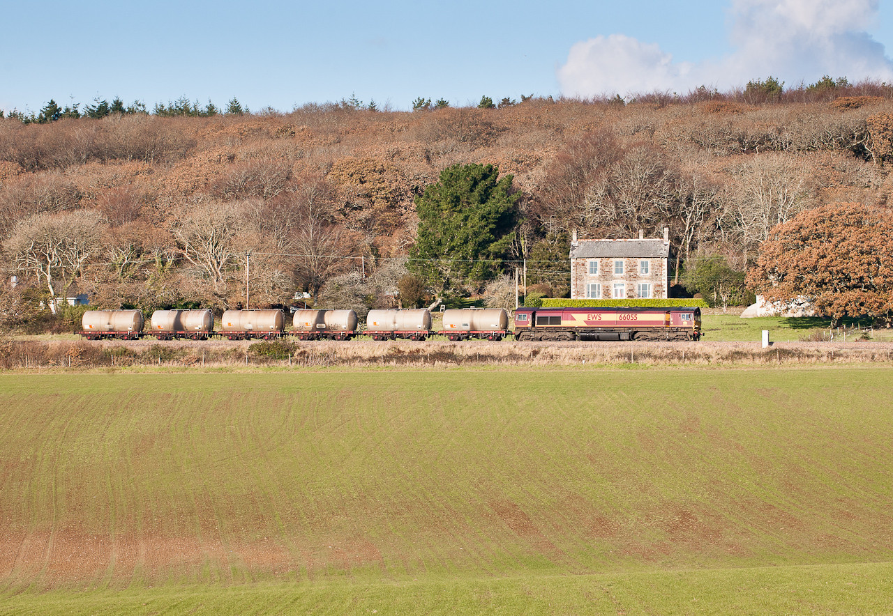 66055 on 14:25  6C11   WO  14:20 Long Rock-St.Blazey