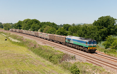 59001 on the 6C28  (Q)  11:58  Exeter Riverside-Westbury