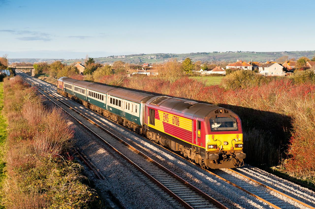 67016/67017 1400 Cardiff-Taunton