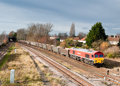 59206 on 7C28 1158 Exeter-Merehead passes 40 steps on time